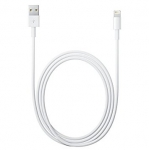 Datakaabel Apple iPhone 5, 5s, 6, 6s, 7, 8 ipad mini Lightning to USB, pikkus 2m Orig. MD819