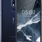 Nokia 5.1 Smartphone, Dual SIM, LTE 16GB, Tempered Blue