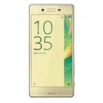 Sony Xperia X (F5121) Smartphone, Android 6.0.1, 32GB, IPS LCD 5 tolli, Dual-core 1.8 GHz ja quad-core 1.4 GHz, 23MP, Lime Gold