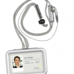 Handsfree Bluetooth Iqua Smart Badge BHS-608