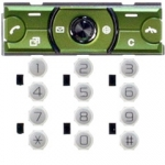 Klaviatuur Sony-Ericsson K660i Lime On White