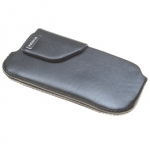 Kott Nokia 6600 fold Carrying Pouch Black Leather Orig.