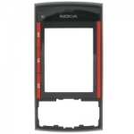 Korpuse esipaneel Nokia X3 Orig. Black/Red