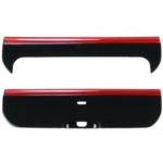 Korpus Nokia X6 TOP-Cover + BOTTOM-Cover Orig. Black/Red