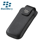 Kott Leather Case magnetiga Blackberry, vööklamber Orig. HDW-29557-001 Black