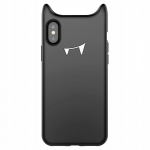 Kaitseümbris Baseus Devil Baby Case iPhone X-le (Black)