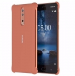 Kaitseümbris Nokia 8 (2017) Soft Touch Case Orig. Copper (CC-801)
