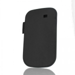 Kott Samsung Nexus S Leather Pouch Orig. EF-C1A3LBE Black