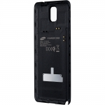 Aku kaas Samsung Galaxy Note 3 (GT-N9005) Wireless Charging Cover (juhtmeta laadimiseks) Orig. EP-CN900IBEGWW Black