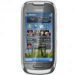 Kasutatud Nokia C7-00 8GB Smartphone, Symbian Belle, 3.5 AMOLED, 3.5G, 8MP HD, GPS, WLAN, BT 3.0