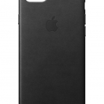 Apple iPhone 7, 8 Leather Case Orig. MMY52FE/A BLACK