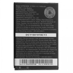 Aku HTC Incredible S LiIon 1450 mAh Orig. BA S520 35H00152