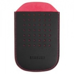 Kott Leather Pouch Samsung S3650 Corby, Genio Touch j.m. Orig. EF-C935L Black/Pink