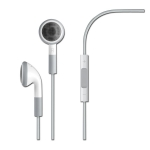 Handsfree Apple iPhone, iPod, iPad Stereo Orig. MB770G White