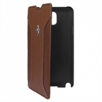 Kott Ferrari F12 Series Book-Flip Case for Samsung Galaxy Note 3 (GT-N9005), Orig. Camel