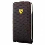 Kott Ferrari New Challenge Series Leather Flip-Case Samsung Galaxy S4 (GT-i9500, GT-i9505) Orig. Black