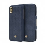 Kaitseümbris iPhone X/XS Marvelle N°305 Signature Oxford Blue Signature Gold (7340115377943)
