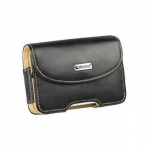 Kott Krusell Pictor Case Leather, Size XS, Black/Beige