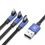 Andmeside / Laadimiskaabel Baseus MVP 3-in-1 Mobile Game Cable