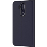 Kaitseümbris Nokia 8.1 (2018) Entertainment Flip Cover Orig. Tempered Blue (CP-281)