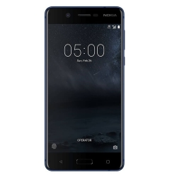 Nokia 5 Dual SIM 16GB 4G Smartphone, Android 7.1.1, 5.2 tolli IPS LCD, Octa-core 1.4 GHz, 13MP , 4G, GPS, WLAN, BT 4.0 Blue
