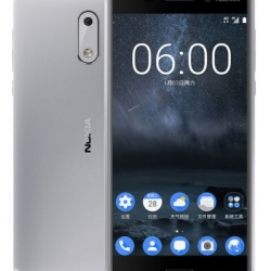 Nokia 5 Dual SIM 16GB 4G Smartphone, Android 7.1.1, 5.2 tolli IPS LCD, Octa-core 1.4 GHz, 13MP , 4G, GPS, WLAN, BT 4.0 Silver