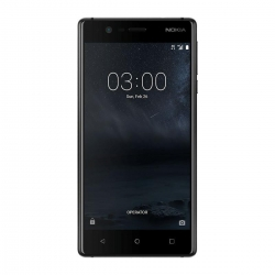 Nokia 3 Dual SIM 16GB 4G Smartphone, Android 7.0, 5 tolli  IPS LCD, Quad-core 1.4 GHz, 8MP , 4G, GPS, WLAN, BT 4.0 Black