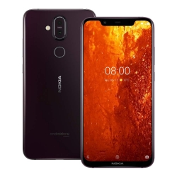 Nokia 8.1 Dual SIM, 64GB, 4 GB Iron Purple