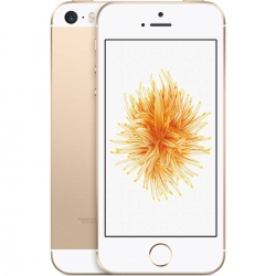 Apple iPhone SE 16GB mobiiltelefon, iOS 9.3.3, IPS LCD, Dual-core 1,84 GHz, 12MP, GPS, WLAN, BT 4.2, Gold (ametlikult võrguvaba!)